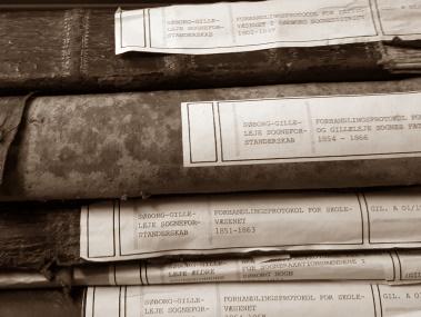 Protokoller fra Gribskov Arkiv